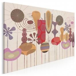Festiwal różnorodności - nowoczesny obraz na płótnie - 120x80 cm