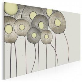 W stronę słońca - nowoczesny obraz na płótnie - 120x80 cm