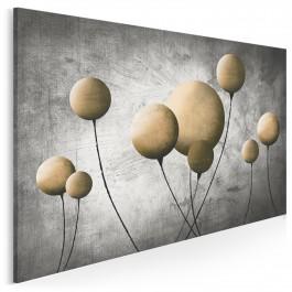 Mosiężny balonik - nowoczesny obraz na płótnie