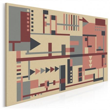 Prototyp - nowoczesny obraz na płótnie - 120x80 cm