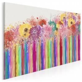 Wiosenna makatka - nowoczesny obraz na płótnie - 120x80 cm