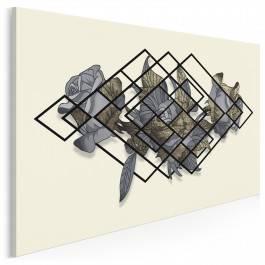 Blaski i cienie - nowoczesny obraz na płótnie
