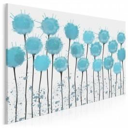 W obłokach błękitu - nowoczesny obraz na płótnie - 120x80 cm