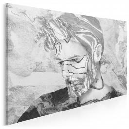 Męski świat - nowoczesny obraz na płótnie - 120x80 cm