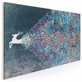Źródło dynamizmu - nowoczesny obraz na płótnie - 120x80 cm