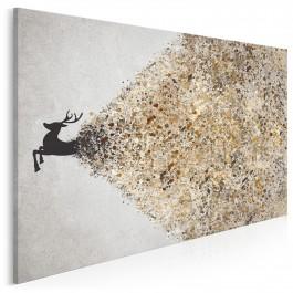 Krater ekstrawertyzmu - nowoczesny obraz na płótnie - 120x80 cm