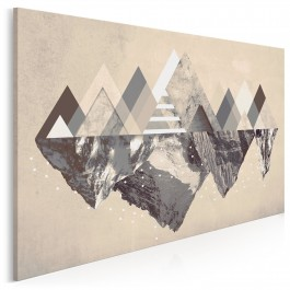 Czar gór - nowoczesny obraz na płótnie