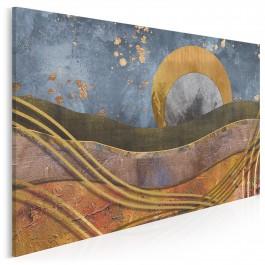 Kołysanka - nowoczesny obraz na płótnie - 120x80 cm