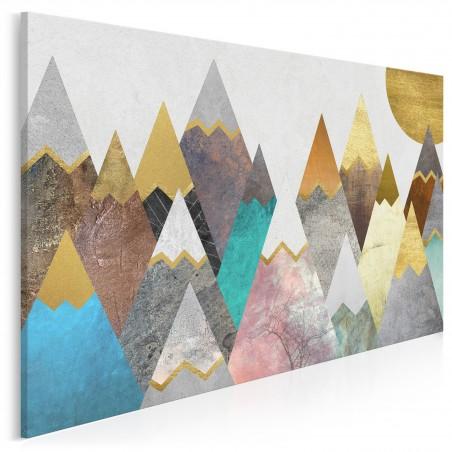 Lukrowe wierchy - nowoczesny obraz na płótnie - 120x80 cm