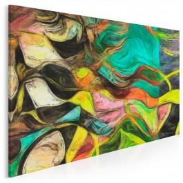 Patyna czasu - nowoczesny obraz na płótnie - 120x80 cm