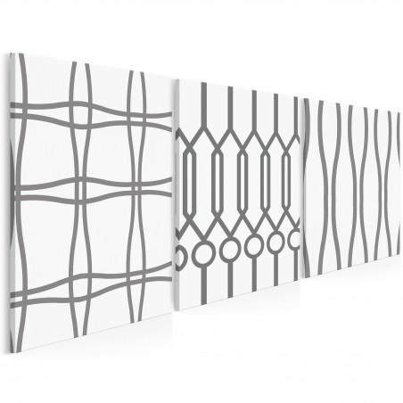 Galicja - nowoczesny obraz na płótnie - 3szt. 50x70 cm