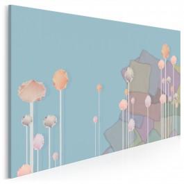 Baśniowe fantazjowanie - nowoczesny obraz na płótnie - 120x80 cm