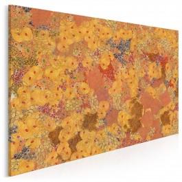 W ogrodzie Klimta - nowoczesny obraz na płótnie - 120x80 cm