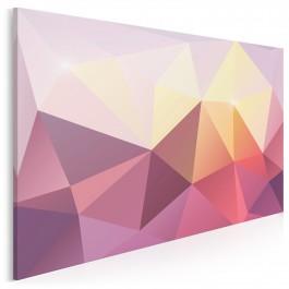 Purpuryt - nowoczesny obraz na płótnie - 120x80 cm