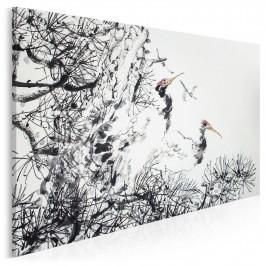 Wojownicy pokoju - nowoczesny obraz do sypialni - 120x80 cm