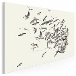 Uciekające myśli - nowoczesny obraz na płótnie