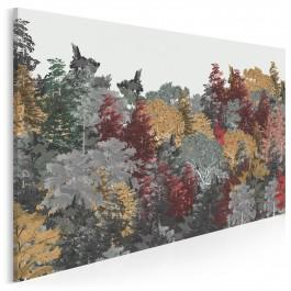 W tonie zadumy - nowoczesny obraz do sypialni - 120x80 cm