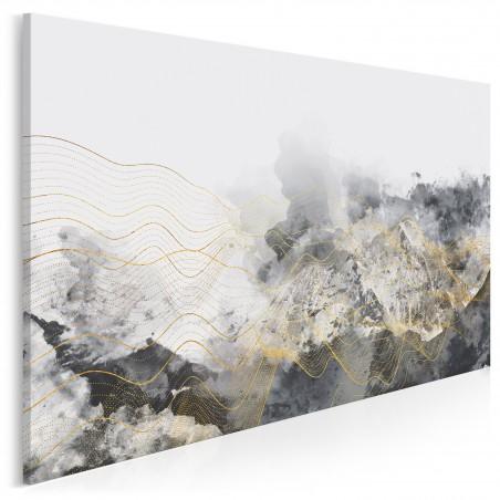Lśnienie - nowoczesny obraz na płótnie - 120x80 cm