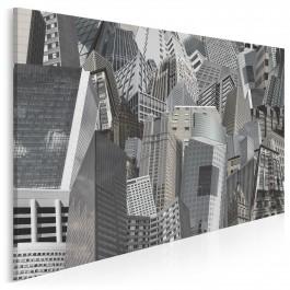 Szklane domy - nowoczesny obraz na płótnie