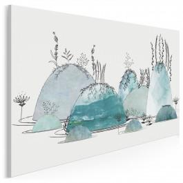 Cudne manowce - nowoczesny obraz do sypialni - 120x80 cm
