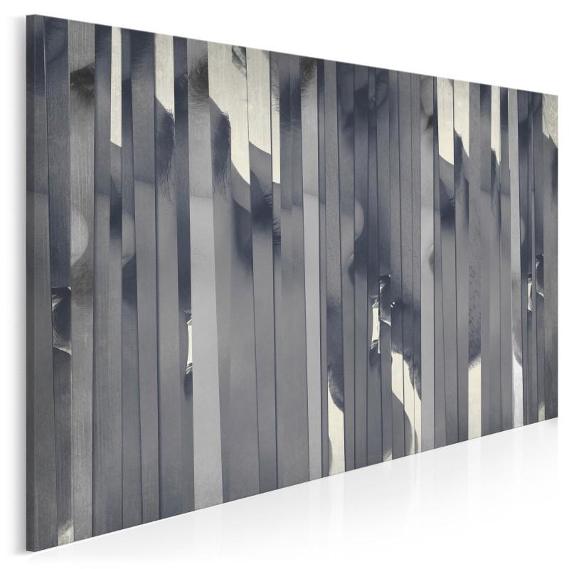 Kuluary namiętności - nowoczesny obraz na płótnie - 120x80 cm