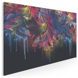 Migracje barw - nowoczesny obraz do salonu