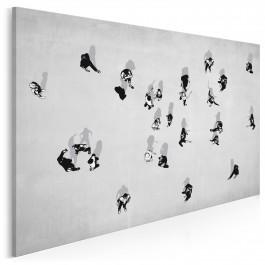 Hyde Park - nowoczesny obraz na płótnie - 120x80 cm
