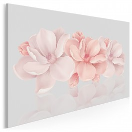 Carte blanche - nowoczesny obraz na płótnie - 120x80 cm