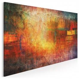 Ład i chaos - nowoczesny obraz na płótnie - 120x80 cm