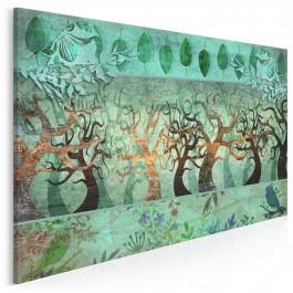 Irlandzka saga - nowoczesny obraz na płótnie - 120x80 cm