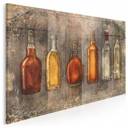 Szlachetne trunki - nowoczesny obraz na płótnie - 120x80 cm