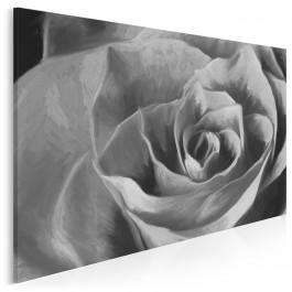 Elegancja róży - nowoczesny obraz na płótnie - 120x80 cm