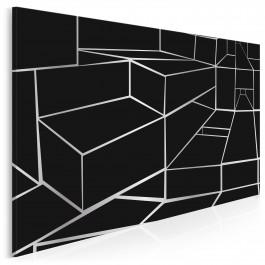 Magia perspektywy - nowoczesny obraz do salonu - 120x80 cm