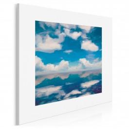 Niebiański spokój - nowoczesny obraz na płótnie