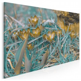 W pogoni za wiatrem - nowoczesny obraz do salonu - 120x80 cm