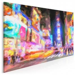 Wszystkie kolory Nowego Jorku - nowoczesny obraz na płótnie - 120x80 cm