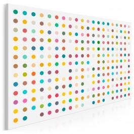 Sztuka minimalizmu - nowoczesny obraz na płótnie - 120x80 cm