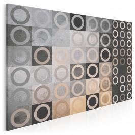 W labiryncie nieoczywistości - nowoczesny obraz na płótnie - 120x80 cm