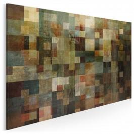 Enigmatyczny wzór życia - nowoczesny obraz na płótnie - 120x80 cm