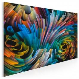 Widmo światła - nowoczesny obraz na płótnie - 120x80 cm