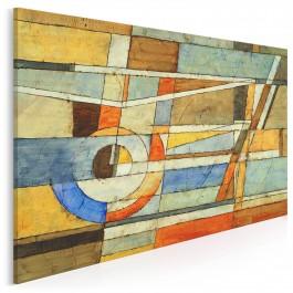 Koniec rzeczywistości - nowoczesny obraz na płótnie - 120x80 cm