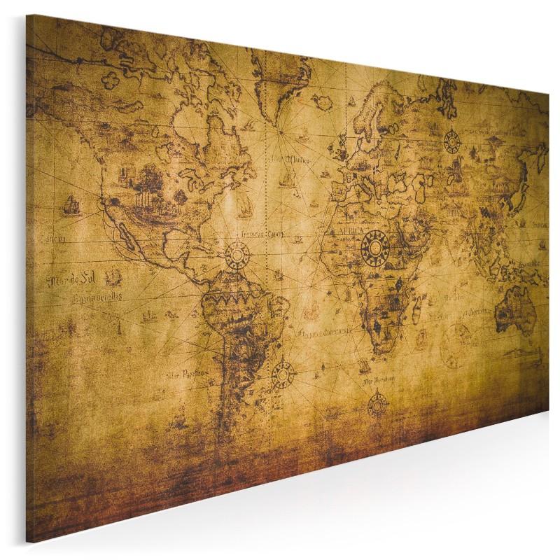 Robinsonada - nowoczesny obraz do salonu - 120x80 cm