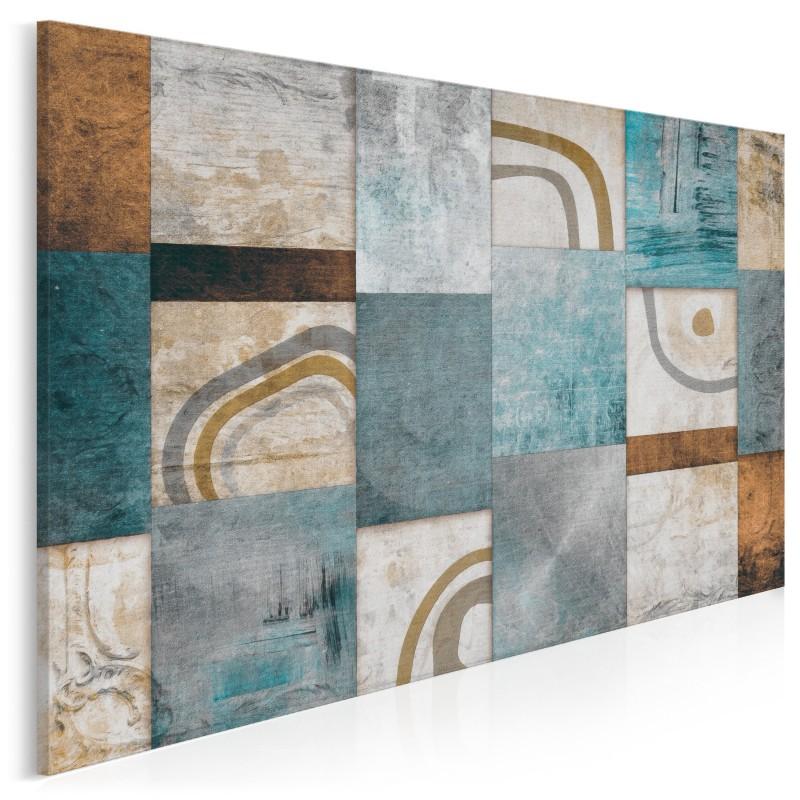 Mozaika myśli - nowoczesny obraz na płótnie