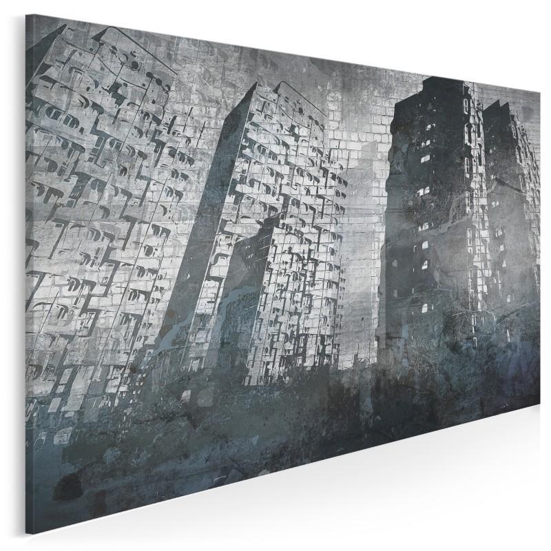 Wrocławski Manhattan - nowoczesny obraz na płótnie