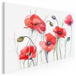 Podlaskie łąki - nowoczesny obraz do sypialni - 120x80 cm