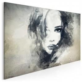 Dusza z antracytu - nowoczesny obraz na płótnie