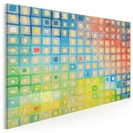 Patrząc pod słońce - nowoczesny obraz na płótnie - 120x80 cm