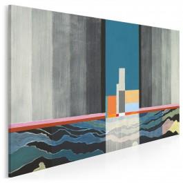 Latarnia morska - nowoczesny obraz na płótnie - 120x80 cm