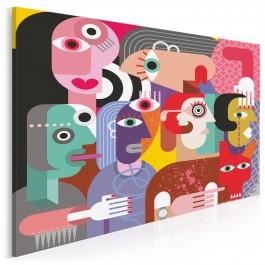 Opera mydlana - nowoczesny obraz na płótnie - 120x80 cm