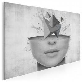 Myśli frywolne - nowoczesny obraz na płótnie - 120x80 cm